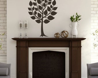 Round Tree - Trees and Branches Wall Decals