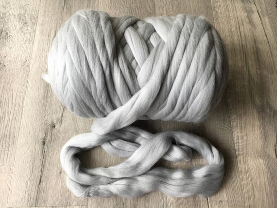 Cotton Knitting Yarn Australia : Lbs arm knitting yarn for super chunky hand