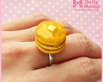 Sweet kawaii pancakes Ring by Dolly House