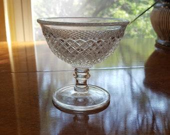 English Hobnail sherbet or short stem Westmoreland Glass