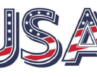 USA Decal Sticker - 2 size options