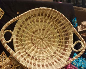 Large two looped casserole basket