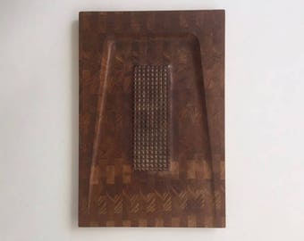 Deluxe Danish Digsmed Hardwood Carving Board