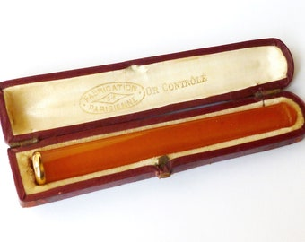 Vintage Amber & Gold Cigarette Holder