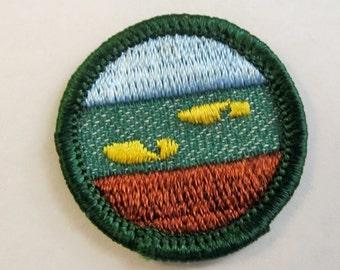"Intermediate Girl Scout Badge ""Rambler"" circa 1950's"