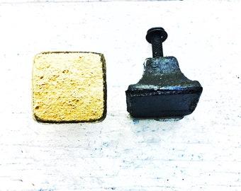 Square Knobs, Industrial Home Decor , Cabinet Knobs Drawer Pulls,Dresser Drawer Knob In Gold Victorian Black ,Boys Room ,Gold Bedroom Spring