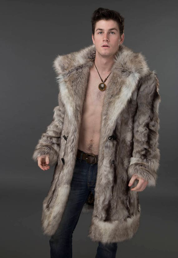 About our Men's Fur Coats Don a real fur coat this season from FurHatWorld to keep cozy in the chilly months. Our selection of men's fur coats can be found in vests and full-length designs to suit your style/5(79).