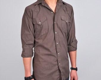 vintage SWEET GEORGIA BROWN men's pearl snap western shirt
