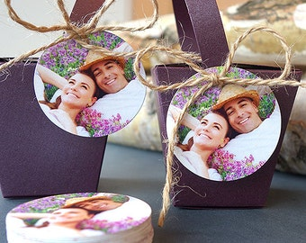Hang Tags for Wedding Favors (Round Tags)