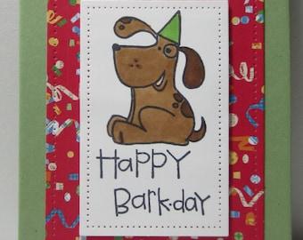 Happy Barkday/Doggie Birthday Reminder Book