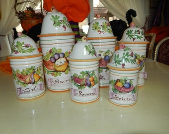 ITALY CANISTER SET