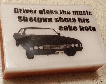 Supernatural Driver Picks the Music, Shotgun Shuts his Cake Hole Soap