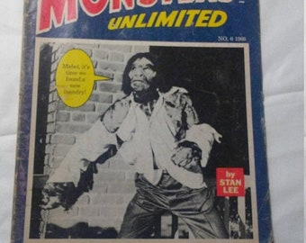 Spring Sale Vintage Monsters Unlimited Magazine from Large Collection
