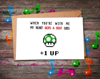 Gamer Birthday Card Level Up Funny Nerdy Jpg 340x270 Happy