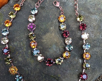Swarovski fall hues set