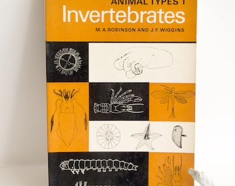 Vintage Invertebrates book, published 1973