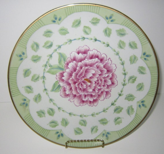 Like this item? & Andrea by Sadek Decorative Porcelain Plate Cake Plate Shabby