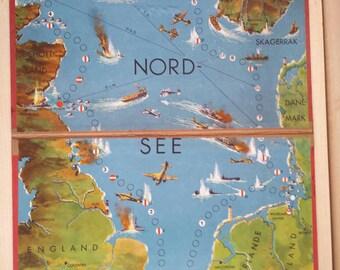 Nordsee-Vintage-Spiel