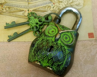 Owl Temple Lock Home Decor hardware accessories