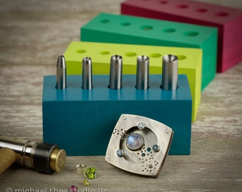 Exclusive! SmoothSet punches for quick & easy tube-setting • Made in Milwaukee!