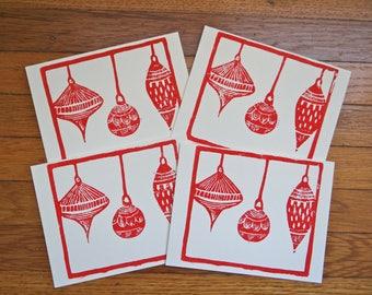 Ornament Cards Set of Four