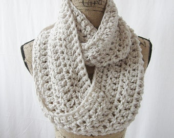 Instant Download Crochet Infinity Scarf Pattern Cowl Neck Warmer