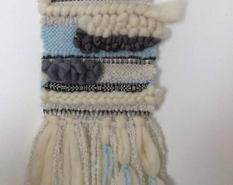 45 weaving wall decoration - unique - handmade