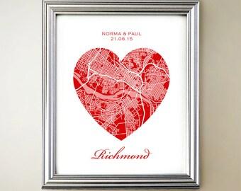 Richmond Heart Map