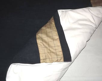 Kids duvet cover linen and cotton 140 x 200