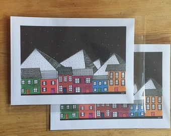 Terrace houses original print