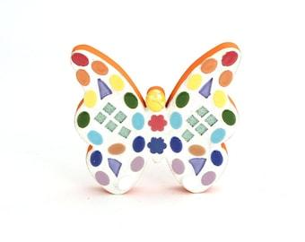 Butterfly Mosaic - Wall Art
