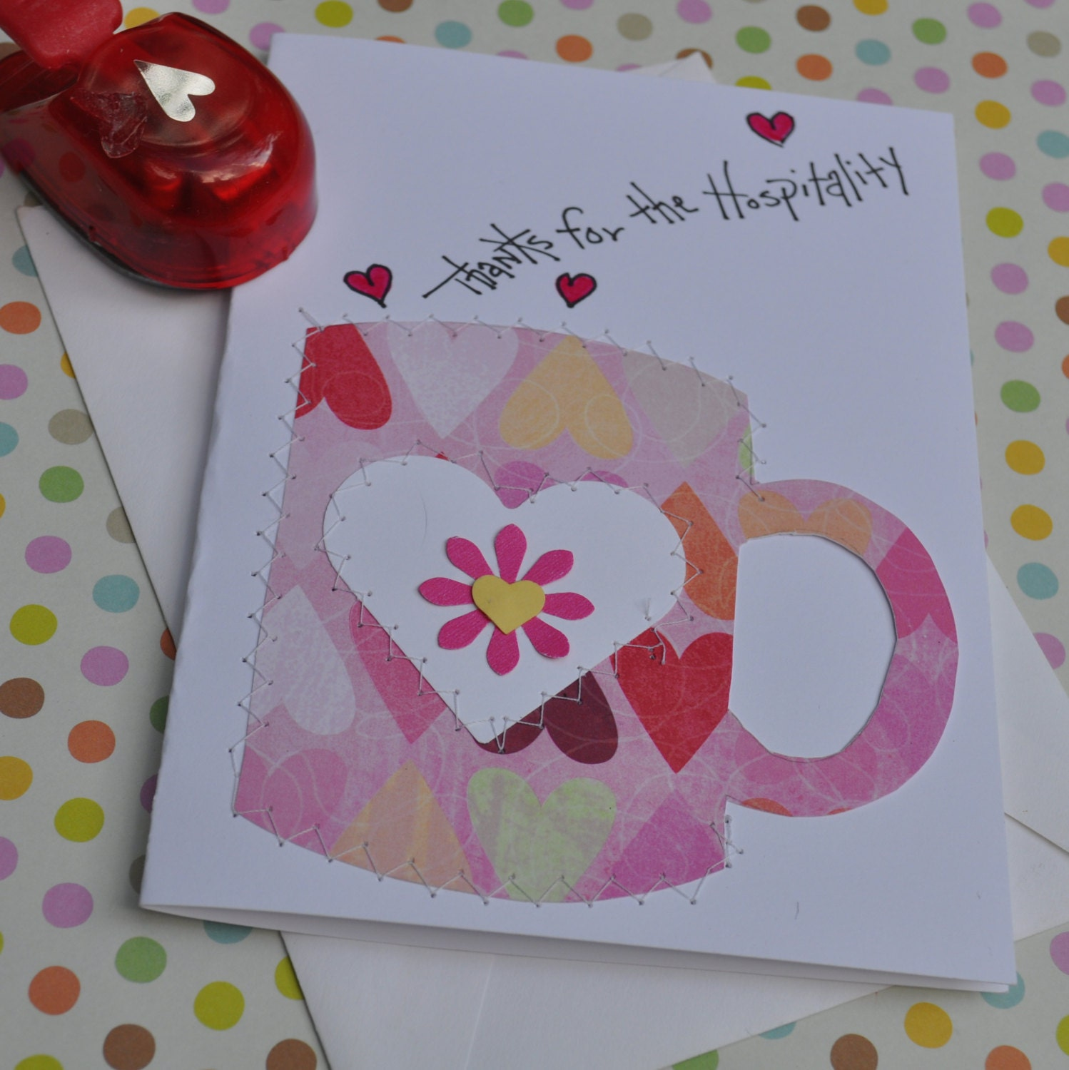 Thank You Greeting Card Thanks For Your Hospitality