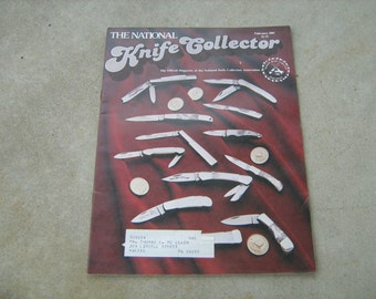 1981 February the national knife collector  magazine