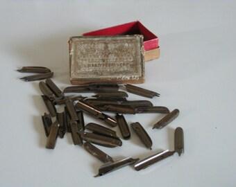 Français de stylo plumes 60 calligraphie plumes en boîte d'origine