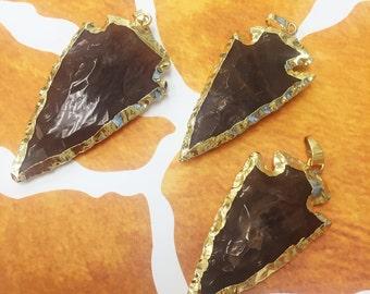 Jasper Arrowhead Pendant, Arrowhead Pendant, Arrowhead Pendants, Arrowhead Jewelry, Arrowhead Jasper, Jasper Arrowhead Jewelry, Pendants,