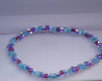 Kaleidoscope of Colors Beaded Bracelet
