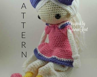 Daisy - Amigurumi Doll Crochet Pattern PDF