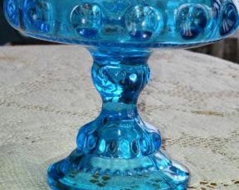 Indiana Glass King's Crown Thumbprint Compote