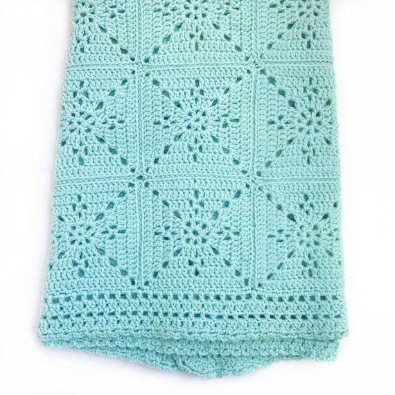 Crochet Blanket Pattern - Arielle\'s Square - Baby Blanket - Easy ...