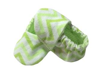 Newborn Baby Boy Booties - Baby Slippers - Shower Gift - Slipper Booties - Newborn Baby Shoes