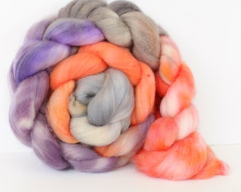 Topaz 4 oz Merino softest 19.5 micron Roving Top for spinning