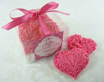 Heart Soap Thank You Gift -