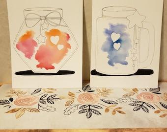 Love Jars (full set)