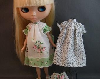 Hankie Dress Pattern  for Blythe