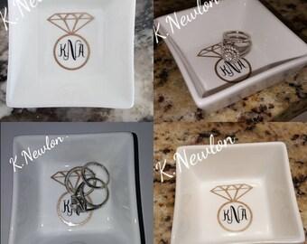 Ring Dish Bridesmaid Gift Set