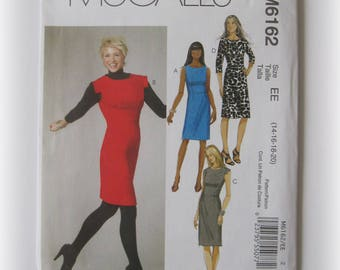 McCall's M6162 Misses' Dress Pattern...Out of Print!