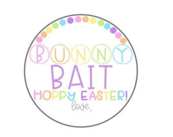 Bunny Bait Tag – Printable Easter Tags – Easter Gift Tags – Peeps Easter Printable Tags – Hoppy Easter – Digital Easter – Bunny Tag