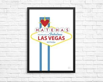 Fabulous Las Vegas - 8.5x11 Print