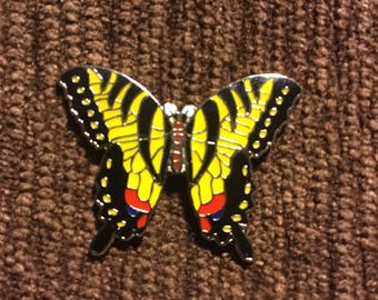 Swallow tail butterfly pin