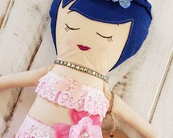 Mermaid Keepsake Heirloom Doll